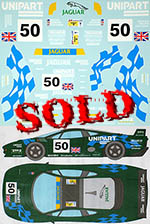 MUSEUM COLLECTION 1/24 JAGUAR XJ220C LE MANS 1994 DECAL for TAMIYA