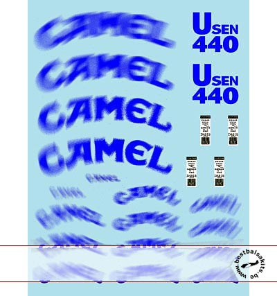 MUSEUM COLLECTION 1/18 FILL IN DECAL for MINICHAMPS BENETTON B191B