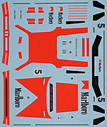 MUSEUM COLLECTION 1/43 1/43 FULL SPONSOR DECAL for BMW M1 PRO CAR MINICHA