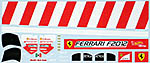 MUSEUM COLLECTION 1/43 FILL IN & TRANS DECAL F2012 ALONSO MASSA MATTEL