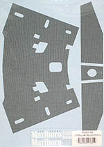 MUSEUM COLLECTION 1/8 McLAREN MP4/4 MONOCOQUE CARBON DECALS