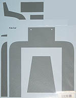 MUSEUM COLLECTION 1/8 McLAREN MP4/4 UNDERTRAY FRONT CARBON DECALS
