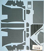 MUSEUM COLLECTION 1/8 cLAREN MP4/4 UNDERTRAY REAR CARBON DECALS