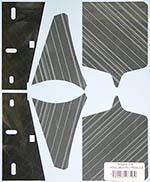 MUSEUM COLLECTION 1/8 McLAREN MP4/4 HAIR LINE DECALS