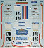MUSEUM COLLECTION 1/24 ROTHMANS PORSCHE 911 DECAL PARIS DAKAR 84 ICKX