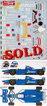 MUSEUM COLLECTION 1/20 LIGIER JS41 for ACADEMY B195