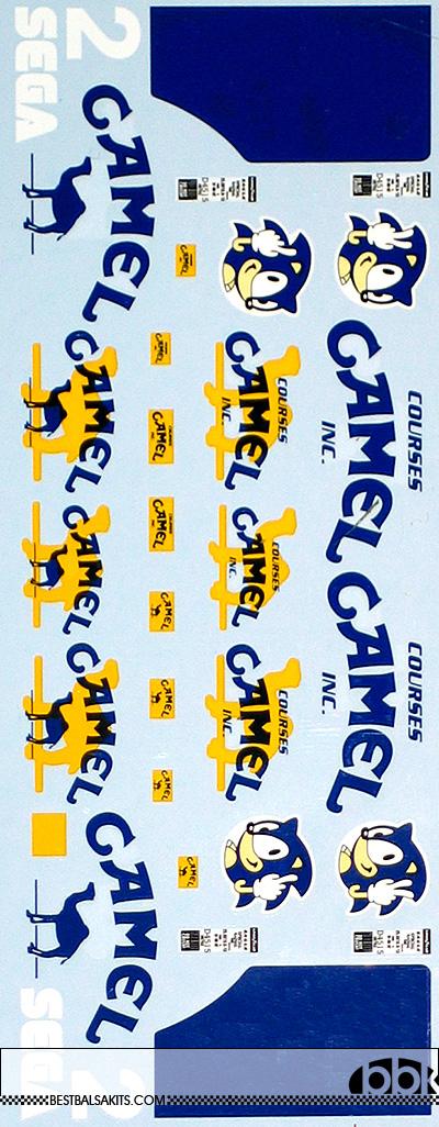 MUSEUM COLLECTION 1/18 WILLIAMS FW15C SEGA 2 FILL IN DECAL