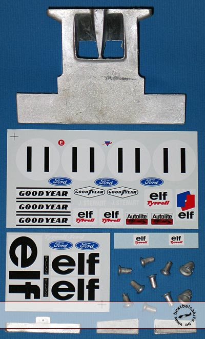 MUSEUM COLLECTION 1/12 TYRRELL 003 HAMMERHEAD MONACO 1971 for TAMIYA
