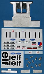 MUSEUM COLLECTION 1/12 TYRRELL 003 HAMMERHEAD MONACO 1971 for TAMIYA