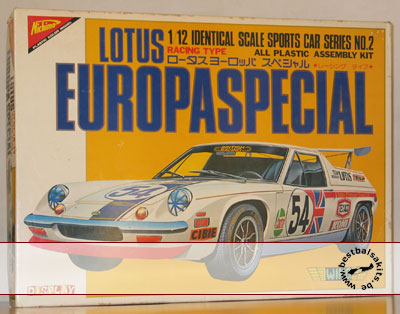 NICHIMO 1/12 LOTUS EUROPA SPECIAL RACING TYPE