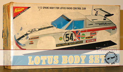 NICHIMO 1/12 LOTUS EUROPA SPECIAL RACING TYPE BODY SET