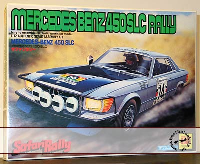OTAKI 1/12 MERCEDES BENZ SLC450 SAFARI RALLY