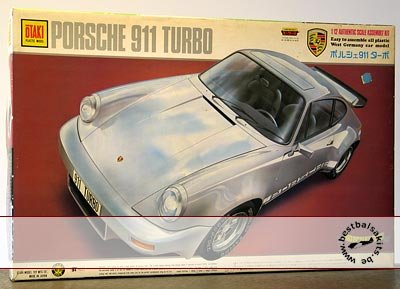 OTAKI 1/12 PORSCHE 911 TURBO - motorized