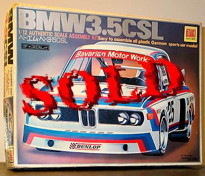 OTAKI 1/12 BMW 3.5 CSL