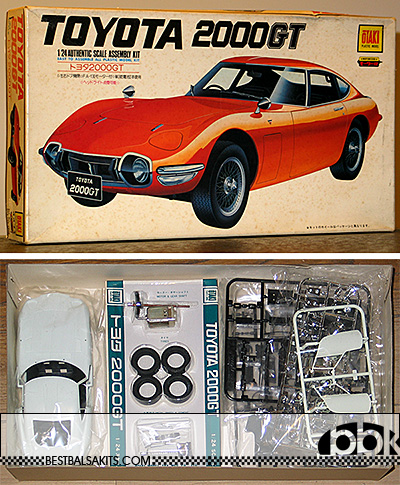 OTAKI 1/24 TOYOTA 2000GT MODEL KIT