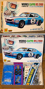 OTAKI 1/24 FORD CAPRI RS3100 WORKS