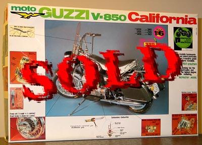 PROTAR 1/6 PROTAR 1/8 MOTO GUZZI CALIFORNIA V-850 850