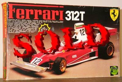 PROTAR 1/12 PROTAR FERRARI 312T
