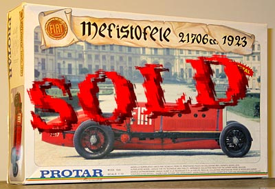 PROTAR 1/12 FIAT MEFISTOFELE 21706cc 1923