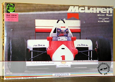 PROTAR 1/12 HONDA McLAREN MP4/2C METAL VERSION