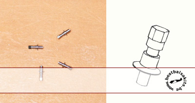 RBM 1/12 4pc 1/12 air valve stems valves