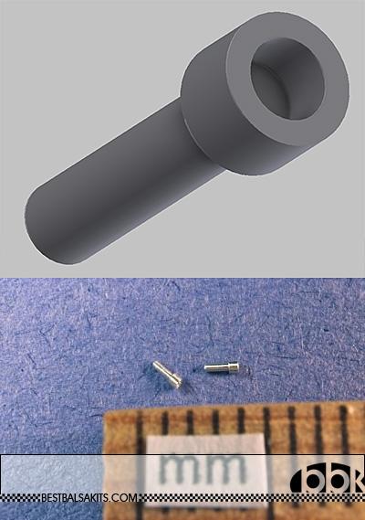 RBM NA SOCKET HEAD CAP SCREW 20pc DIAMETER 0.56mm (.022