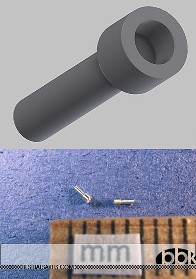 RBM NA SOCKET HEAD CAP SCREW 20pc DIAMETER 0.66mm (.026
