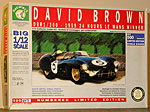 RETRO TOYS 1/12 ASTON MARTIN DBR1 LE MANS WINNER '59 DAVID BROWN