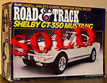 REVELL 1/12 ROAD & TRACK SHELBY GT350 GT-350 MUSTANG