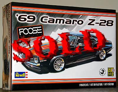 REVELL 1/12 CAMARO Z28 Z-28 FOOSE