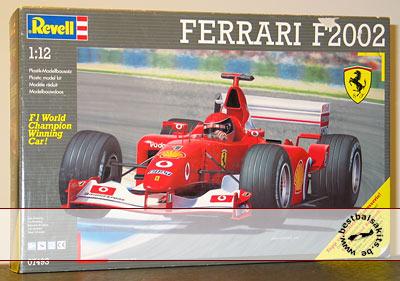 REVELL 1/12 FERRARI F2002