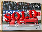 ROSSO 1/12 HONDA NSX MARSHALL CAR