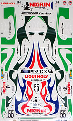 SPEED LINE 1/24 LIQUI MOLY DECAL TAMIYA 1/24 FORD CAPRI ZAKSPEED
