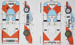 SPEED LINE 1/24 PORSCHE 956/962 MARL.BORO 5 VERSIONS