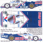 SPEED LINE 1/24 PORSCHE 962 VALVOLINE SWAP SHOP DAYTONA WINNER
