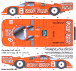 SPEED LINE 1/24 PORSCHE 962 SWAP SHOP SEBRING 12Hr WINNER