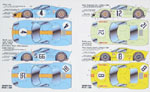 SPEED LINE 1/24 FORD GT40 CONVERSION DECAL SHEET 1