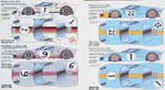 SPEED LINE 1/24 FORD GT40 CONVERSION DECAL SHEET 2