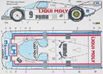 SPEED LINE 1/24 LIQUI MOLY PORSCHE 962 WSPC 1985