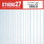 STUDIO 27 NA WHITE LINE DECAL