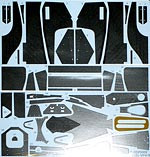 STUDIO 27 1/20 FULL CARBON DECAL FUJIMI 1/20 McLAREN MP4/6 SENNA