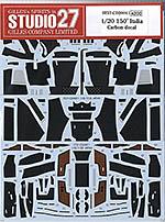 STUDIO 27 1/20 FULL CARBON DECAL 1/20 FERRARI F150 2011 FUJIMI