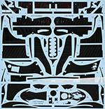 STUDIO 27 1/20 WILLIAMS FW14B FULL CARBON DECAL for FUJIMI