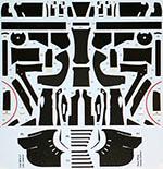 STUDIO 27 1/20 McLAREN MP4-31 LATE FULL CARBON DECAL VANDOORNE