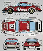 STUDIO 27 1/24 PORSCHE 934 DENVER LE MANS 1979 BUSSI SALAN