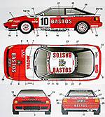 STUDIO 27 1/24 CELICA GT ST165 BASTOS MONTE CARLO 89 SNIJERS