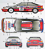 STUDIO 27 1/24 CELICA GT ST165 SECURICOR GB 1990 #20