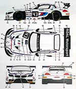 STUDIO 27 1/24 BMW Z4 ROAL MOTORSPORTS #43 MONZA 2014