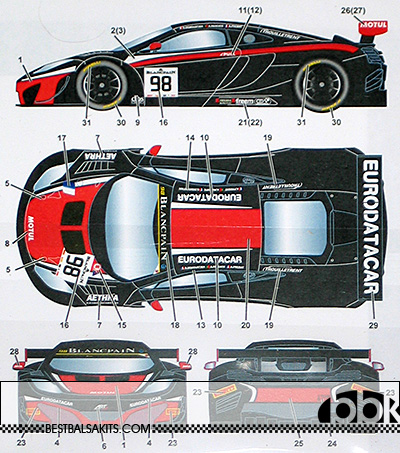 STUDIO 27 1/24 STUDIO 27 MP4-12C ART GRAND PRIX #98 MONZA 2014