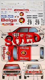 STUDIO 27 1/24 VOLKSWAGEN GOLF GTi Belga #29 EUROPEAN RALLY CHAMP